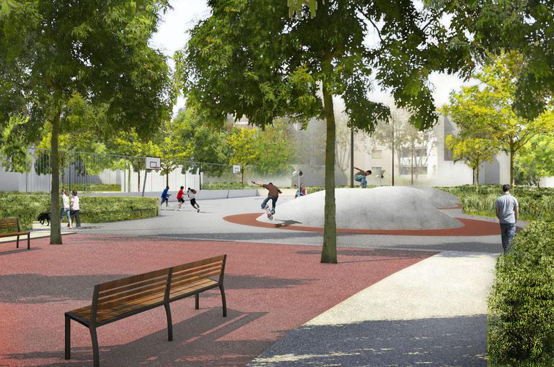 Espaces Publics Vernay Verch 232 Res Plan Interactif Du