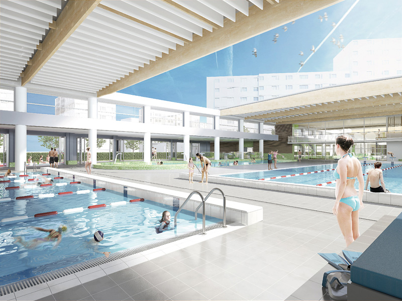 Vaulx en velin gpv for Piscine vaulx en velin
