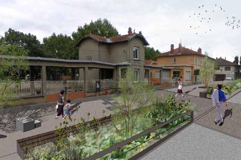 Projet urbain quartiers sud projets par quartiers for Piscine vaulx en velin